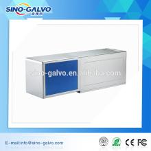 escáner de galvo láser de enfoque de gran formato láser CO2 10600nm