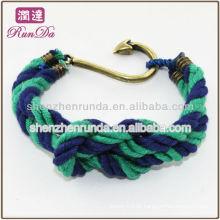 Atacado peixe pulseira pulseira pulseira moda jóias fabricante