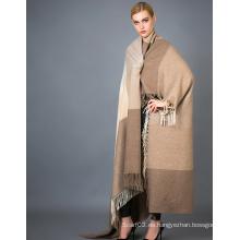 Bufanda de cachemira de Alashan, Textura suave / lujosa