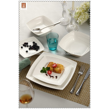 ceramic modern square dinner set
