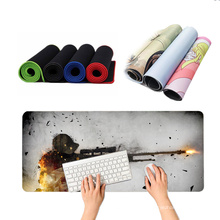 Wholesale custom Gaming Extra Large 90*40 cm Mouse Pad Non-slip Computer Desk Mousepad