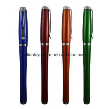 Nueva pluma agradable del regalo de la promoción del diseño, pluma plástica del gel (LT-C749)