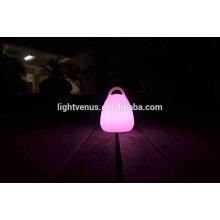 venta caliente fábrica precio recargable LED linterna con mango tienen interruptor