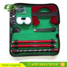Novelty cheap office Golf Practise set/golf office gift set/indoor golf set