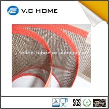 PTFE teflón recubierto de tratamiento de superficie antiadherente de fibra de vidrio de fibra de PTFE China Proveedor