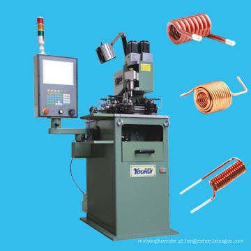 Máquina automática de enrolamento de bobina sem bobina de múltiplos eixos para bobinas de núcleo de ar redondas e rectangulares de várias camadas