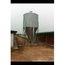 Feed Silo and Main Feeding Line
