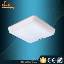 La lámpara de techo cuadrada más vendedora de 12W / 16W LED que enciende