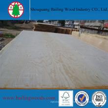 Boa qualidade madeira compensada de pinho dois tempos Hot Press