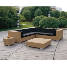 Poly Rattan Sofa Corner Set for Outdoor Furniture