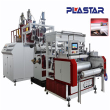 Latest technology PE cling film extruder machine