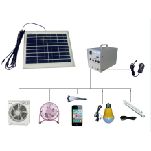 Mini 10w solar led light system
