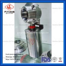 Válvula de borboleta pneumática da linha sanitária SS304 / SS316L