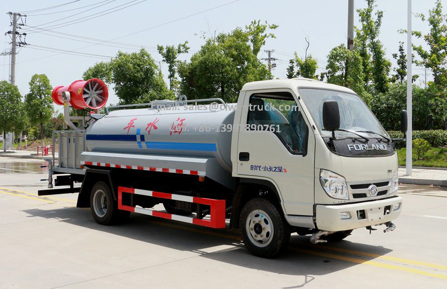 insecticide spray truck manufactory