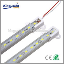 12v / 24v U-forma Alu LED barra rígida de aluminio barra blanca led