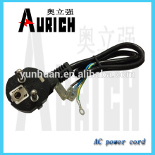 EU Standard pvc Insulated Home Appliances Ac Power Cord WITH cable reel