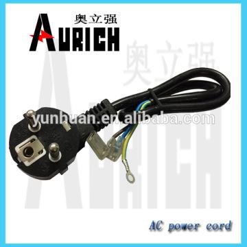 Padrão da UE pvc isolado Home Appliances Ac Power cabo com cabo carretel