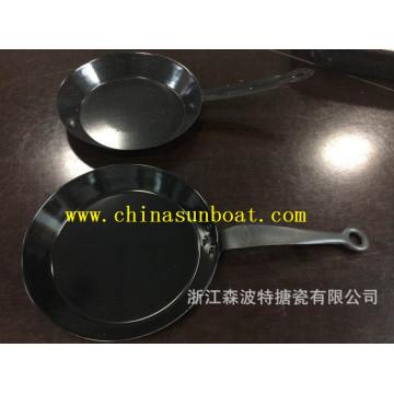 Sunboat Enamel Frying Pan /Baking Tray Kitchenware/Paella Pan