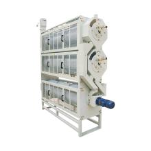 Máquina de línea sancochada clasificadora de longitud de arroz con cáscara