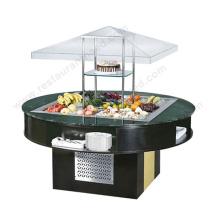 Équipement de cafetière de Shinelong Équipement de barre de salade ronde de haute qualité