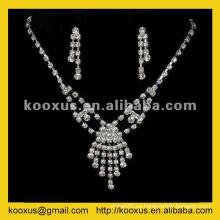 Conjuntos de joyería de la dama de honor de la manera