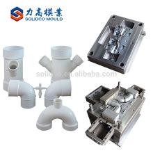 Os moldes os mais atrasados de produção do molde de encaixe de tubulação do acoplamento de China moldam a injeção plástica do Pvc