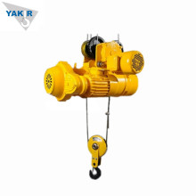 Wire rope pulley electric crane hoist 2 ton
