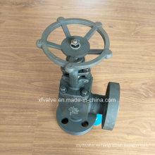 ANSI forjó la válvula del globo del reborde del tipo A105 del acero de carbono forjado
