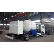 Asme Standard Liquified Gas Truck Mini LPG Liquified Petroleum Gas Tank Truck