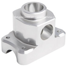Silver Anodic Oxidation Aluminum 6061 CNC Lathe Turning Part