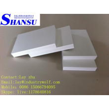 Tablero de la muestra del PVC, tablero de alta densidad de la espuma del PVC de la provincia de Shandong