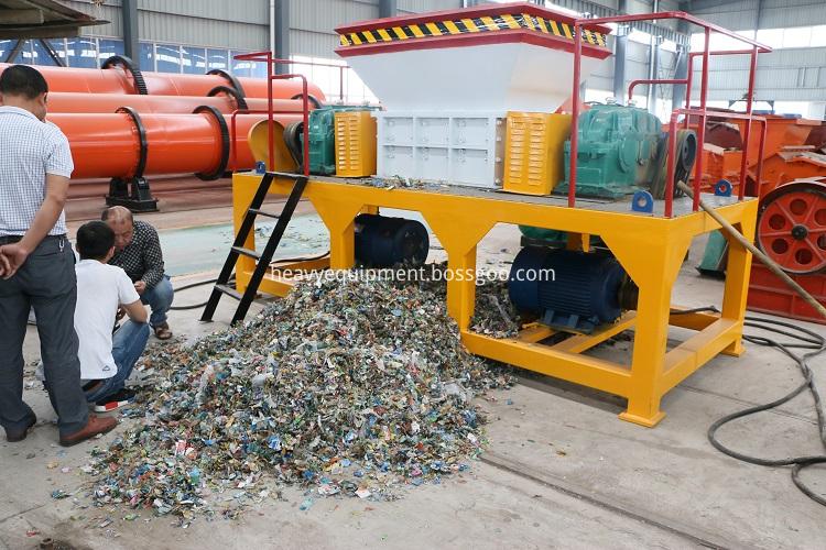 Waste Plastic Bottle Shredding Machine