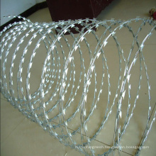 High Quality Galvanized Razor Barbed Wire for Fence