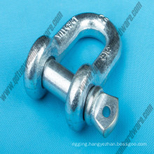 G210 U. S Type Drop Forged Straight Shackle Rigging Hardware