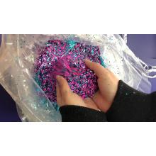 Confetti purpurina em pó tamanho misto para enfeites de artesanato glitter flakes nail art formas