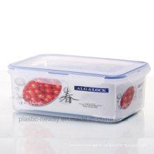 Grande boîte scellée transparente avec poignée