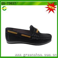 Wholesale Sapatos de couro macio passo único