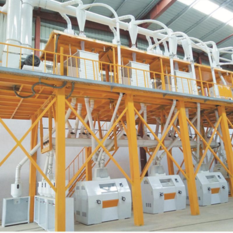 Mozambique 50TPD Maize Milling Plant