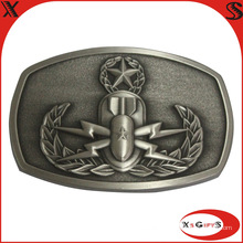 2015 High Quality Metal Silver 3D Buckle