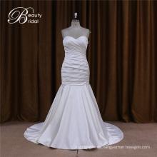 Sweetheart Satin Hochzeitskleid für Bräute