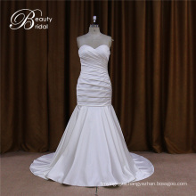 Sweetheart Satin Wedding Dress for Brides
