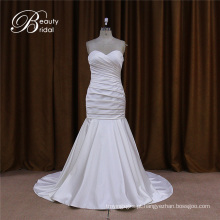 Vestido de noiva cetim querida para noivas