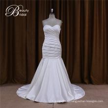 Милая атласная свадебное платье для невесты