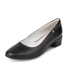 China fábrica grande desconto grossista mulheres grossas calcanhar sapato trabalho