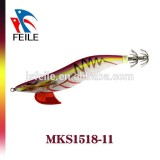 New stlye squid jigs fishing lures with high quality Japanese cloth