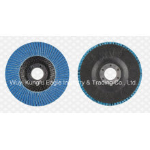"""4"""" Циркониевый оксид алюминия лоскут абразивные диски волокна стеклянной крышкой 22*13мм"""