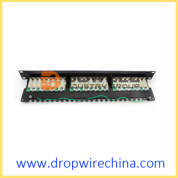Cat 5e Shielded Patch Panel