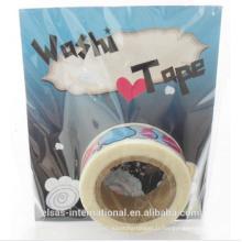 Ruban fait sur commande de Washi, ruban de washi imprimé par coutume, bande de washi imperméable à l'eau