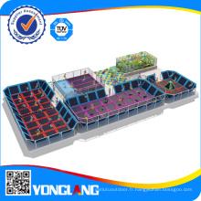 Trampoline intérieur multifonction