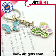 New fashion butterfly key chain charm
